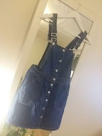 blå denim Dungaree Oslo, 0590