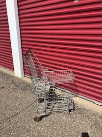Old shopping cart $35 OBO Plymouth