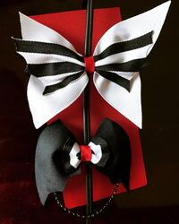 White and black customizable bows  White Settlement, 76108