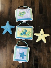 Turtles baby room decor and bedding