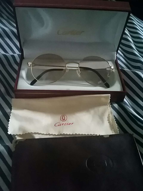 bf903a3cd4 Used authentic cartier glasses 50th anniversery for sale in Vallejo ...