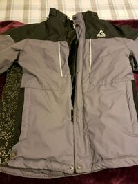 gray and white zip-up jacket Boise, 83704