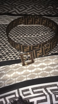 Fendi Belt (Brown) Calgary, T2A