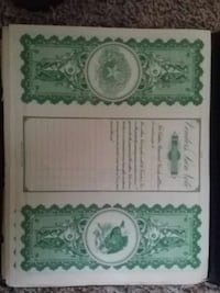 white and green printing paper Beaumont, 77708
