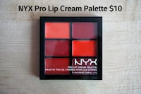 NYX Pro Lip Cream Palette (The Reds) Toronto