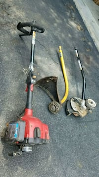 Gas String Trimmer (Weed Wacker) w/ trimmer and edger attachments Herndon, 20170