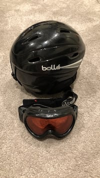 Bolle Snow Helmet And Goggles -53-57cm Kitchener, N2E 1P9