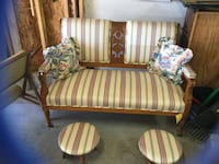 Antique Settee Chesterfield, 23832