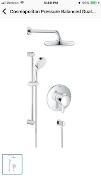 White and gray bluetooth earphones Fountain Hills, 85268