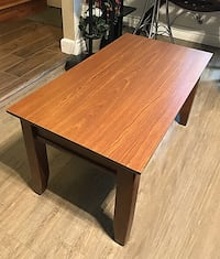 Rectangular brown wooden coffee table  Surrey, V3V 3J7