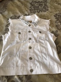True Religion white denim vest Las Vegas, 89123