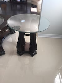 Black wooden coffee table and side table Hamilton, L8V