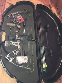 bow fully loaded with all u need and a nice case. Hagerstown, 21740