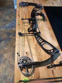 Prime Impact compound bow with accessories Hellam, 17406