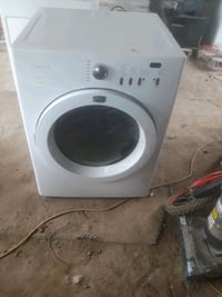white front-load clothes washer Weslaco, 78596