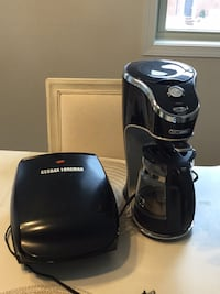 Coffee Maker and grill in great working condition  Boyds, 20871