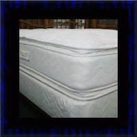 white and black bed mattress McLean