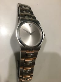 stainless steel movado men's watch Silver Spring, 20910