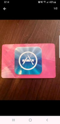 $15 iTunes US Giftcard