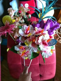 bag of fake flowers brand new