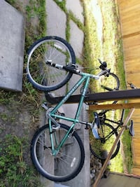 black and green BMX bike Kelowna, V1X 4Y6