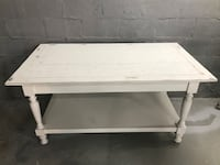 rectangular white wooden coffee table Spartanburg, 29301