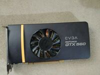 black and gray EVGA Geforce GTX 1060 graphics card DECATUR