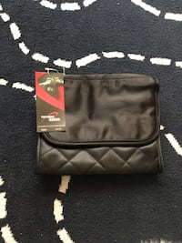 black and red leather bag Bowie, 20715
