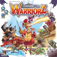 Ultimate Warriorz Board Game - Like New - Played Once Mississauga