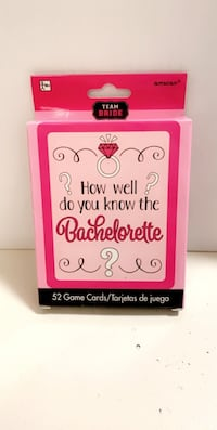 Bachelorette party card game  Edmonton, T5T