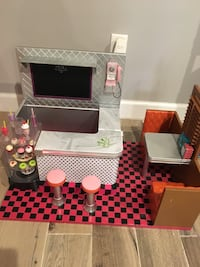 Our generation diner set. Great for American dolls 39 km