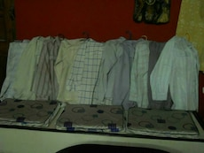 Ten shirts  INR 50 each
