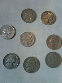old 1940s war nickle's and buffalo nickle Montgomery, 36117