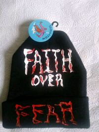 HAND PAINTED HAT FAITH OVER FEAR Annandale, 22003