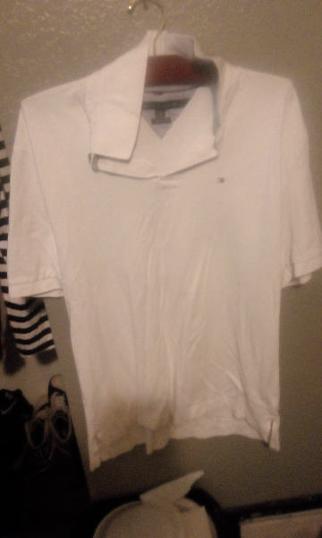 e381e843 Used white Tommy Hilfiger polo shirt for sale in Fresno - letgo
