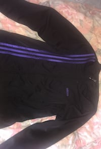 black and purple adidas sweater
