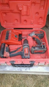 red and black Milwaukee cordless drill Delta, V4C 6A6