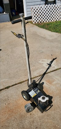 AIR ACTUATED HYDRAULIC AXLE JACK