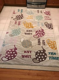 Colorful area rug. Vaughan, L4H 2C6