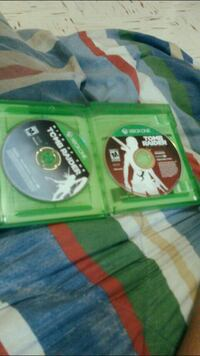 Tomb raider 1& 2 Xbox one games Spencer, 73084