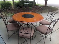 Kitchen Dining Round Table with 7 chairs  Raleigh, 27610