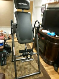 Back problems be gone.  Inversion table