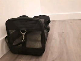 Sherpa Pet travel bag for sale.