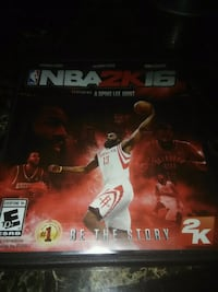 NBA 2k16 game Xbox one  Kettering, 45440