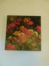 red and green flower painting Fort Walton Beach, 32547