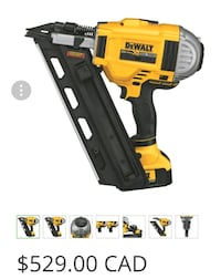 yellow and black DeWalt cordless power drill Spruce Grove, T7Y 1A1