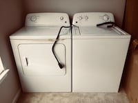Kenmore washer and Dyer Hanover, 21076