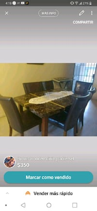 brown wooden dining table set Albuquerque, 87121