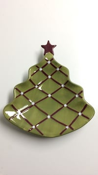 Pottery barn christmas platter