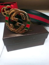 black, red, and green Gucci belt Boston, 02101